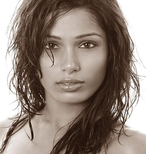 Freida Pinto Slumdog Millionaire actress- photograph by Ryan Martis